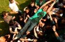 "Guinness World Records ""Classics"" - Das schnellste Crowdsurfing"
