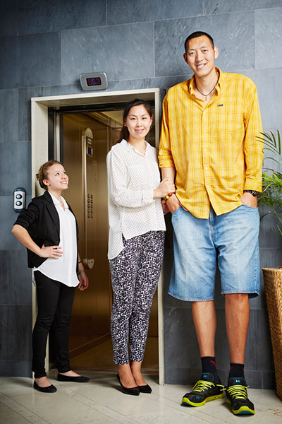 Sun-Mingming-and-Xu-Yan-Tallest-Married-Couple