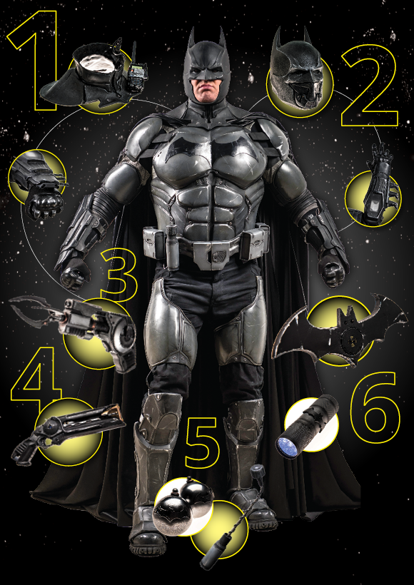 Batman main image infographic