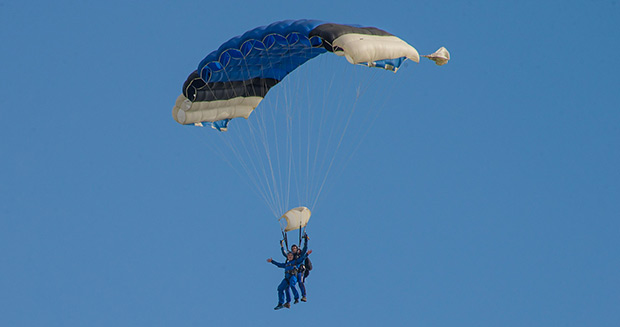 Most magic tricks performed on a single skydive after GWR attempt