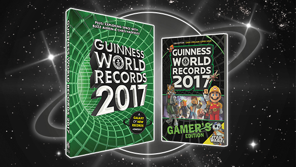 Guinness World Records 2017 books