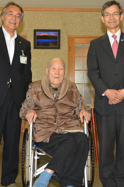 Oldest living man 1