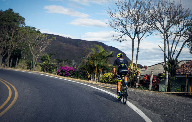 Fastest time to cycle the length of South America (Cartagena to Ushuaia)