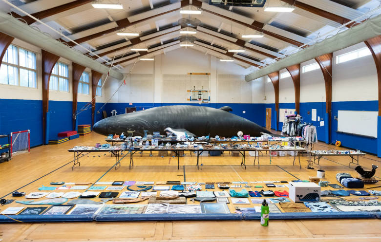 Largest collection of whale-related items